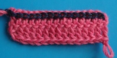 Накладная петля, вязание крючком, уроки вязания крючком, приёмы вязания крючком, как вязать крючком, курсы вязания крючком