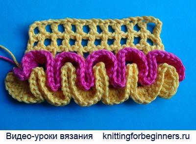 вязание крючком видео скачать вязание