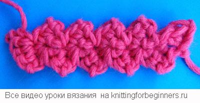 ленточное кружево, лента, как вязать ленточку, вязание крючком, видео урок вязания крючком для начинающих