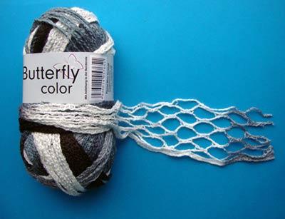 Вязание крючком шарф-спираль