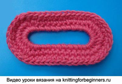 овальный мотив, как вязать овальный мотив, вязание крючком, овал крючком, овальный мотив крючком