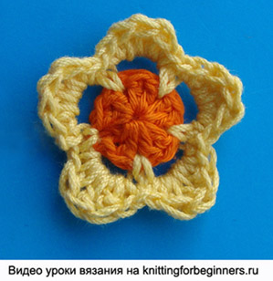 вязание цветов крючком, как связать цветок, вязаный цветок, crochet flower pattern, crochet flower