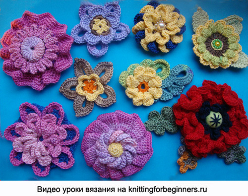 вязание крючкомцветы записи в рубрике вязание крючкомцветы