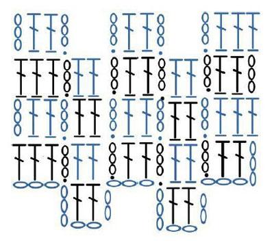 вязание узоры схемы