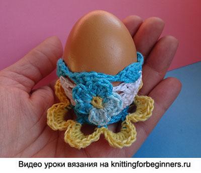 яйцо, пасзальное яичко крючком, вязание крючком, пасхальное яичко
