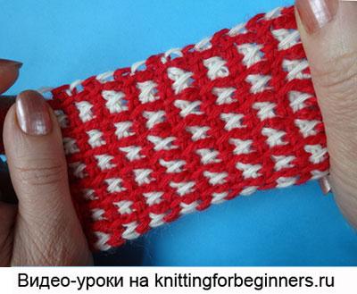 тунисское вязание, афганское вязание
