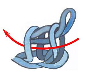 простой тунисский столбик, тунисское вязание обозначения, уроки тунисского вязания
