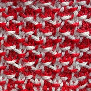 тунисское вязание, узоры крючком, схемы тунисского вязания
