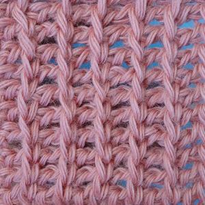 английская резинка, тунисские узоры вязания