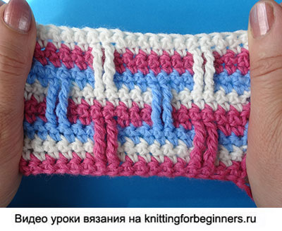 узор вязания крючком