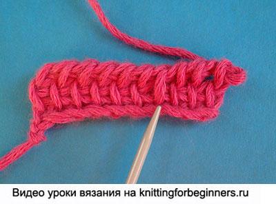снятая петля, тунисское вязание крючком, обозначения тунисское вязание