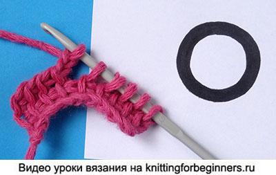 тунисское вязание, уроки , видео